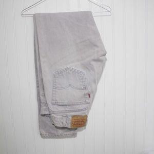 Levi Strauss & Co. 505  34W x 32L Stone Gray Jeans